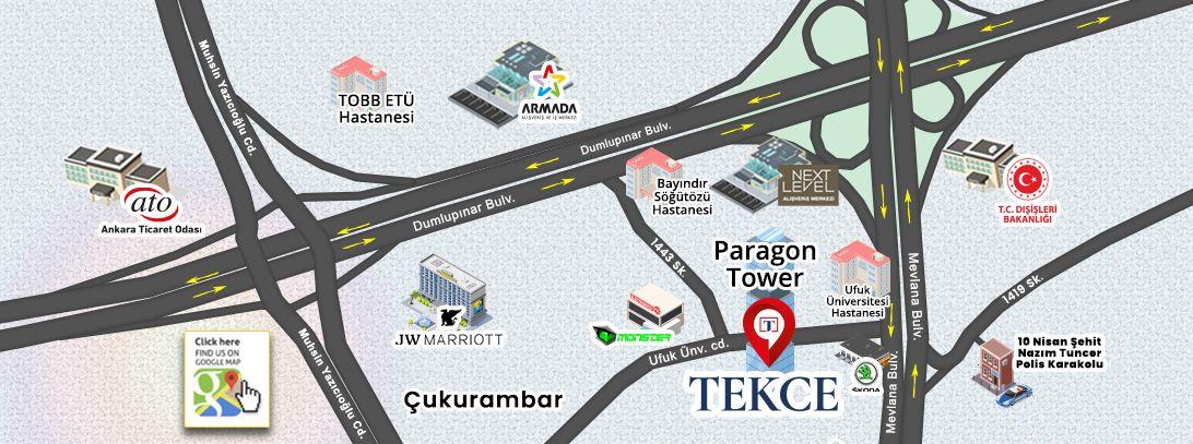Где находится наш офис в Анкаре?