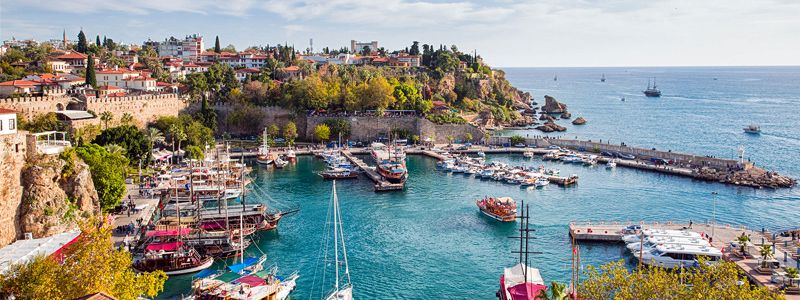 Old City Marina in Antalya