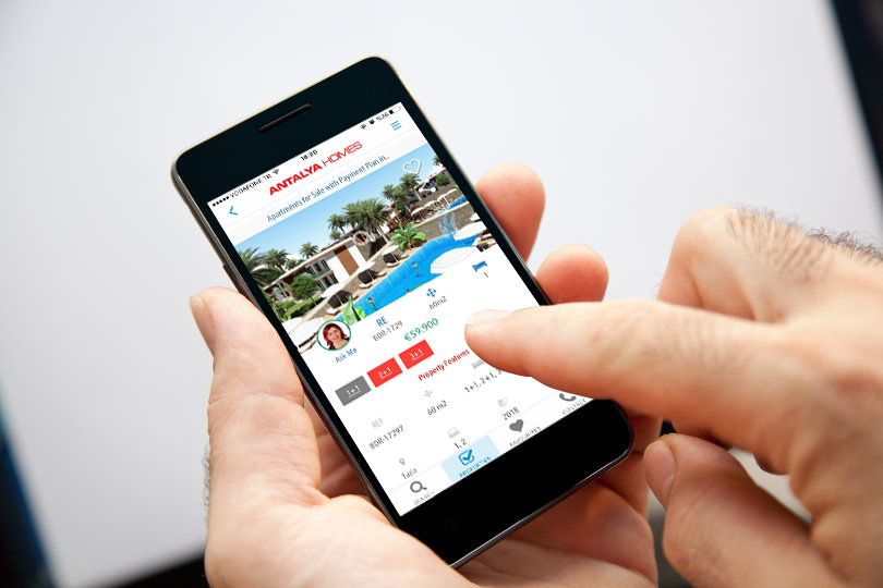 Antalya Homes släpper ut Android och Apple applikation