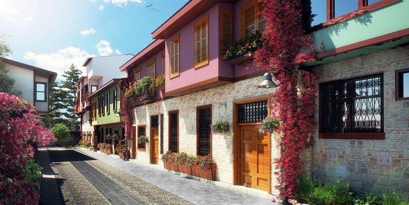 Antalya, Kaleiçi, Gammal stad