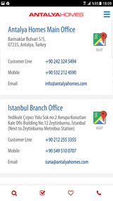 Antalya Homes Mobile Application