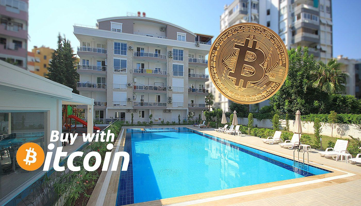 Apartments for sale with Bitcoin