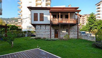 Osmanische Stadthäuser