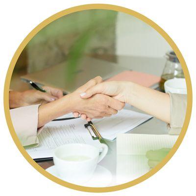 Steg 4: Enas om villkoren och förbereda försäljningskontrakt