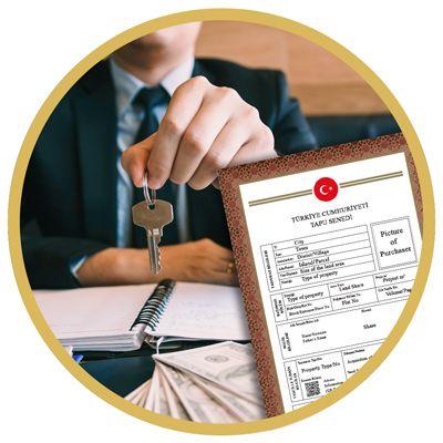 Steg 5: Transaktion med betalning och titelakt