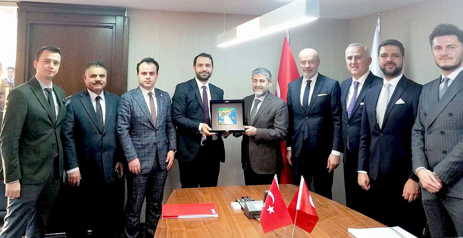 Conseil d'administration de GİGDER et sous-ministre du Trésor et des Finances