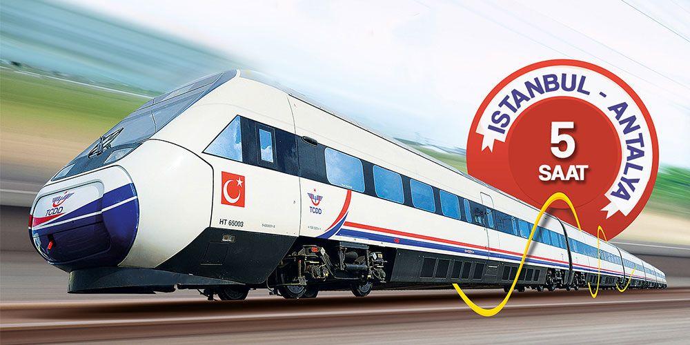 Antalya'ya Yüksek Hızlı Tren Geliyor