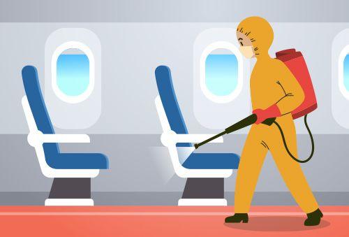 Vor dem Flug zu ergreifende Maßnahmen