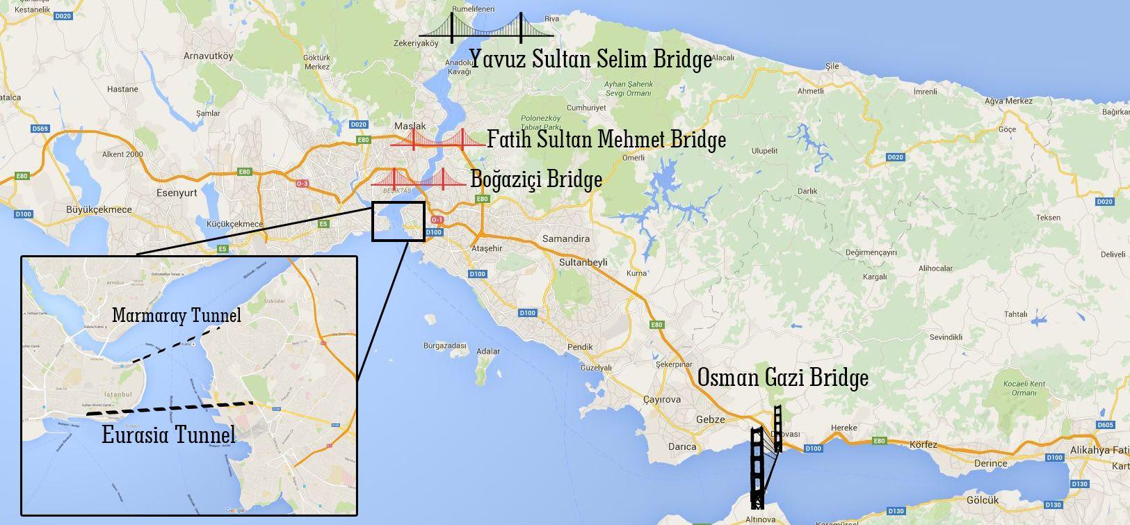 Nya Istanbul Broar