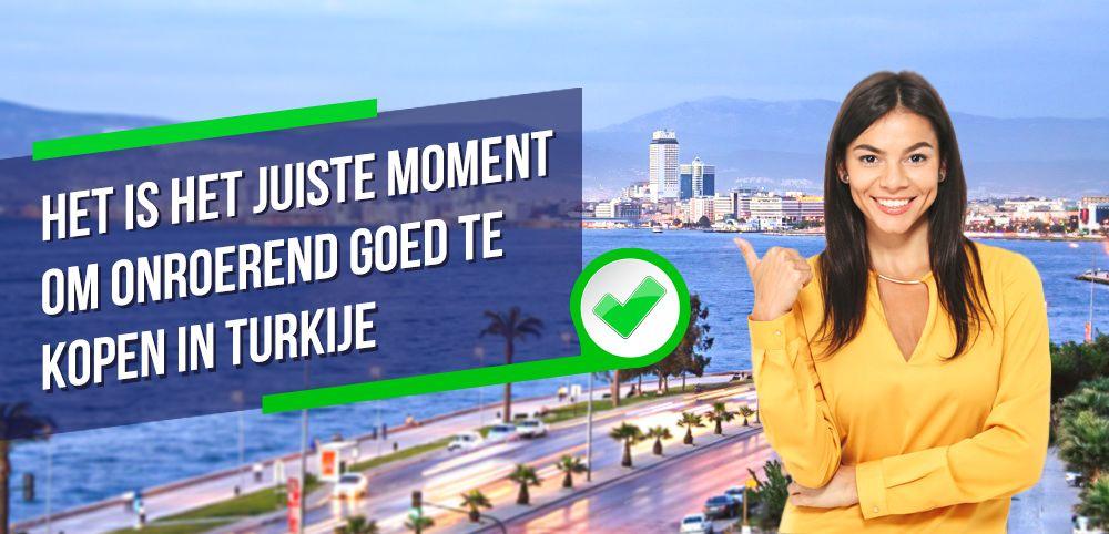 Het is het Juiste Moment om Vastgoed te Kopen in Turkije