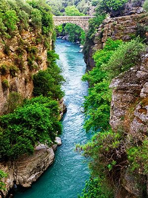Koprulu Canyon in Antalya