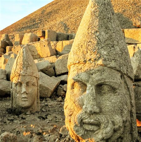Mount Nemrut Statue Heads