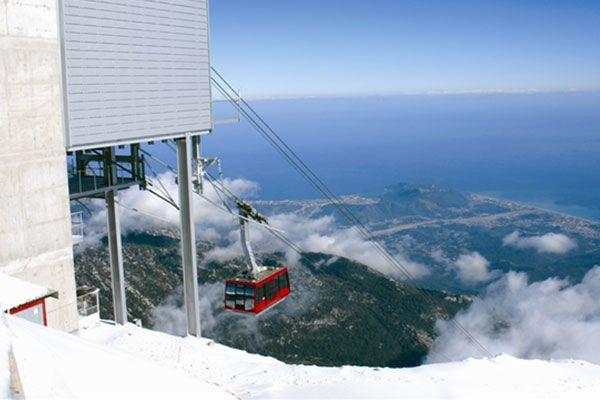 Mount Tahtali, Antalya