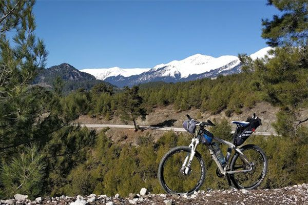 Cycling in Antalya