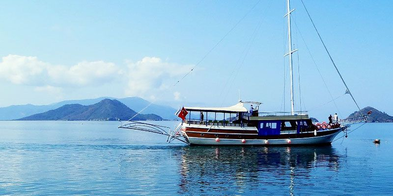 Sailing in Antalya