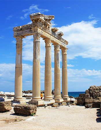 Temple d'Apollon en Side
