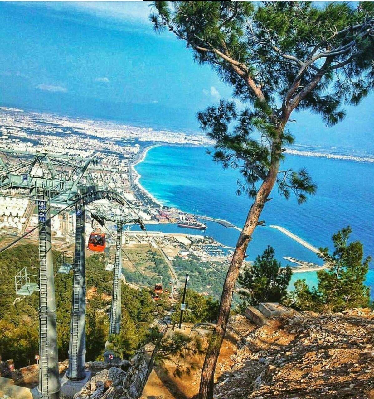 Tünektepe linbana i Antalya