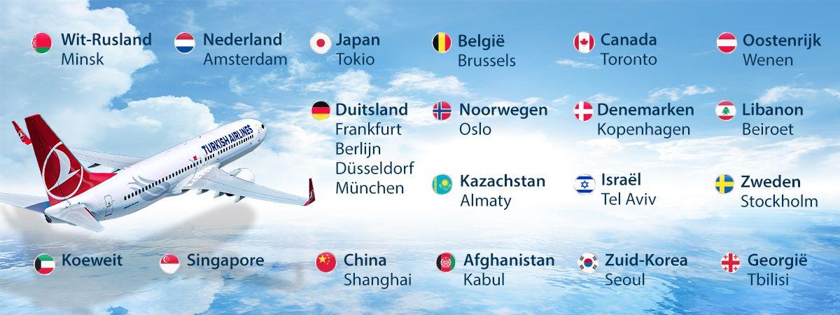 Turkish Airlines is van plan in juni beperkte vluchten te hervatten