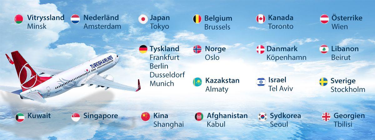 Turkish Airlines planerar att återuppta begränsade flygningar i juni