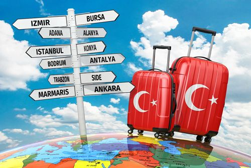 The Turkey Tourism 2023 Vision plan for tourist visitors and revenues.