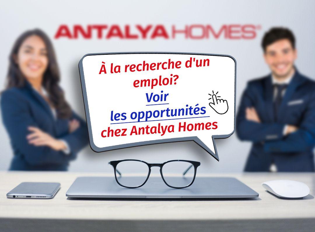 Travailler avec nous? Bienvenue!
