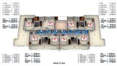 Wohnung Alanya mit Innen und Außen Pool, Immobilienplaene-1