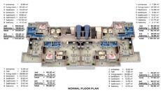 Апартаменты офф-плана, Планировка -2