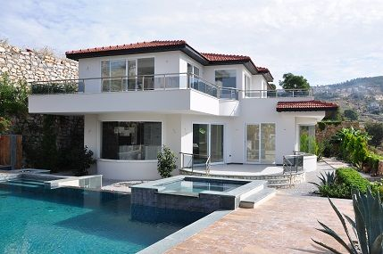 Moderne villa de luxe avec vue sur mer alanya for Acheter maison monaco