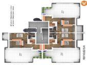 Апартаменты с потрясающим видом на море, Планировка -3