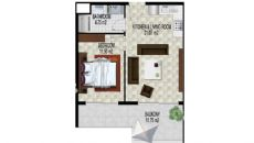Alanya Strand Residence V, Planritningar-1