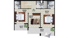 Alanya Strand Residence V, Planritningar-5