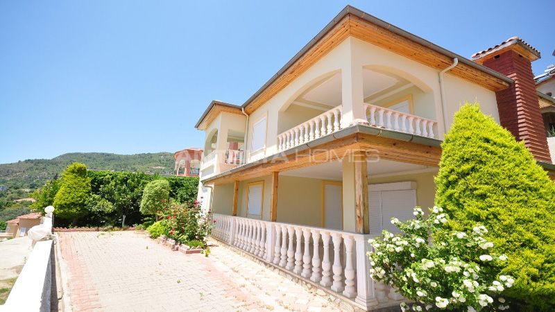 terrace villa luxury villa for sale in alanya with sea view