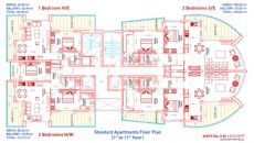 Queen Residence, Property Plans-1