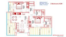 Queen Residence, Property Plans-5