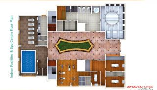 Modern Flats 500 Meter to the Beach in Alanya, Property Plans-5