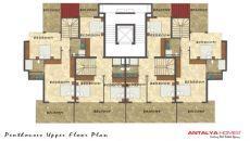 Aura Blue Apartments, Planritningar-5
