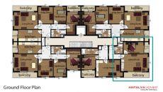 کلوپاترا سویت آپارتمان, پلان ملک-1