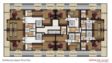 کلوپاترا سویت آپارتمان, پلان ملک-3