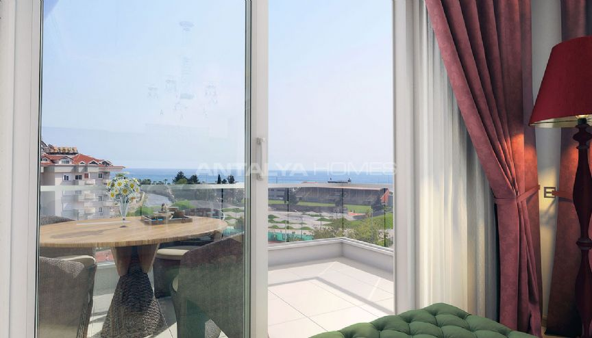 Nika residence appartementen in alanya for Interieur nr 253