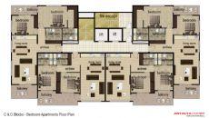 Nika Residence, Kat Planları-1