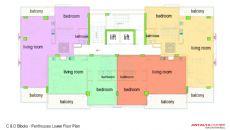 Nika Residence, Kat Planları-2