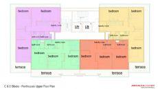 Nika Residence, Kat Planları-3