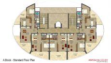 Vesta Garden Appartementen, Vloer Plannen-1