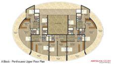 Vesta Garden Appartementen, Vloer Plannen-3