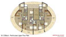 Vesta Garden Sitesi, Kat Planları-6