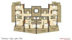 Flower Garden Appartementen 3, Vloer Plannen-4