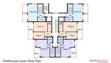 Cleopatra Alaiye Residence, Kat Planları-3
