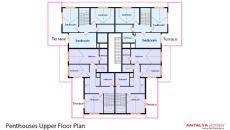 Cleopatra Alaiye Residence, Kat Planları-4