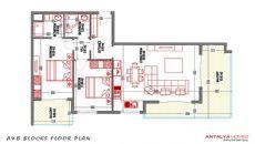 Yekta Towers Sitesi, Kat Planları-1