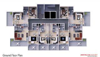 Skyblue Residence, Kat Planları-1